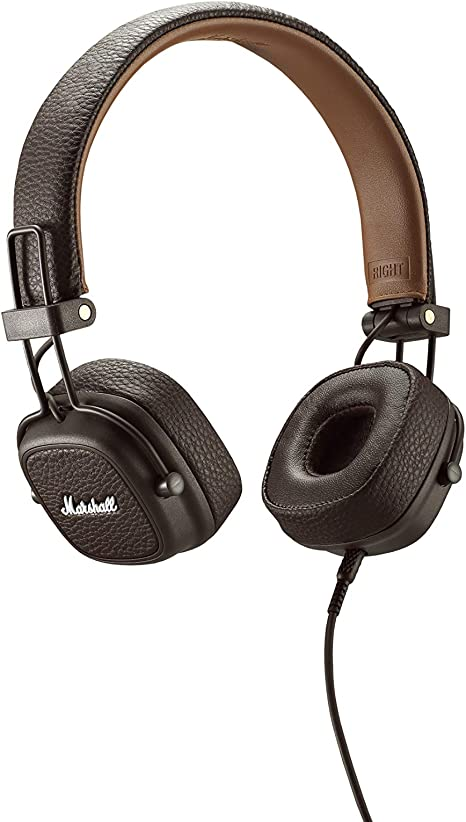 casque audio marshall major ii marron