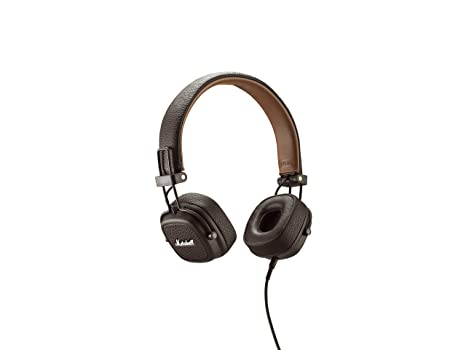 0059c8970eb3 Marshall Major II 04091112 Cuffie Con Telecomando Marrone/Brown ...
