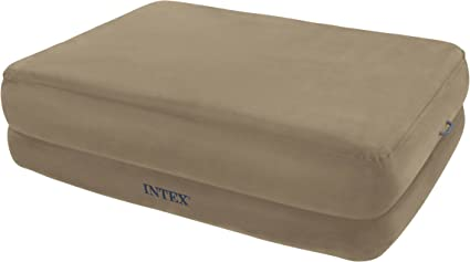 Amazon.com: Intex Queen Espuma parte superior Rising Comfort ...