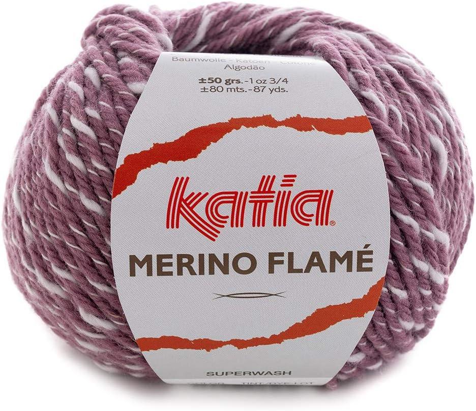 Crudo - 50 G // Env 100 80 M Laine Mérinos Flamme De Katia
