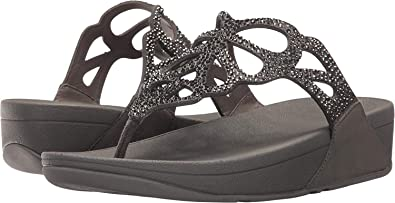 16555f820d862a Fitflop Womens Bumble Crystal Thong Sandal Gold  Amazon.co.uk  Shoes ...