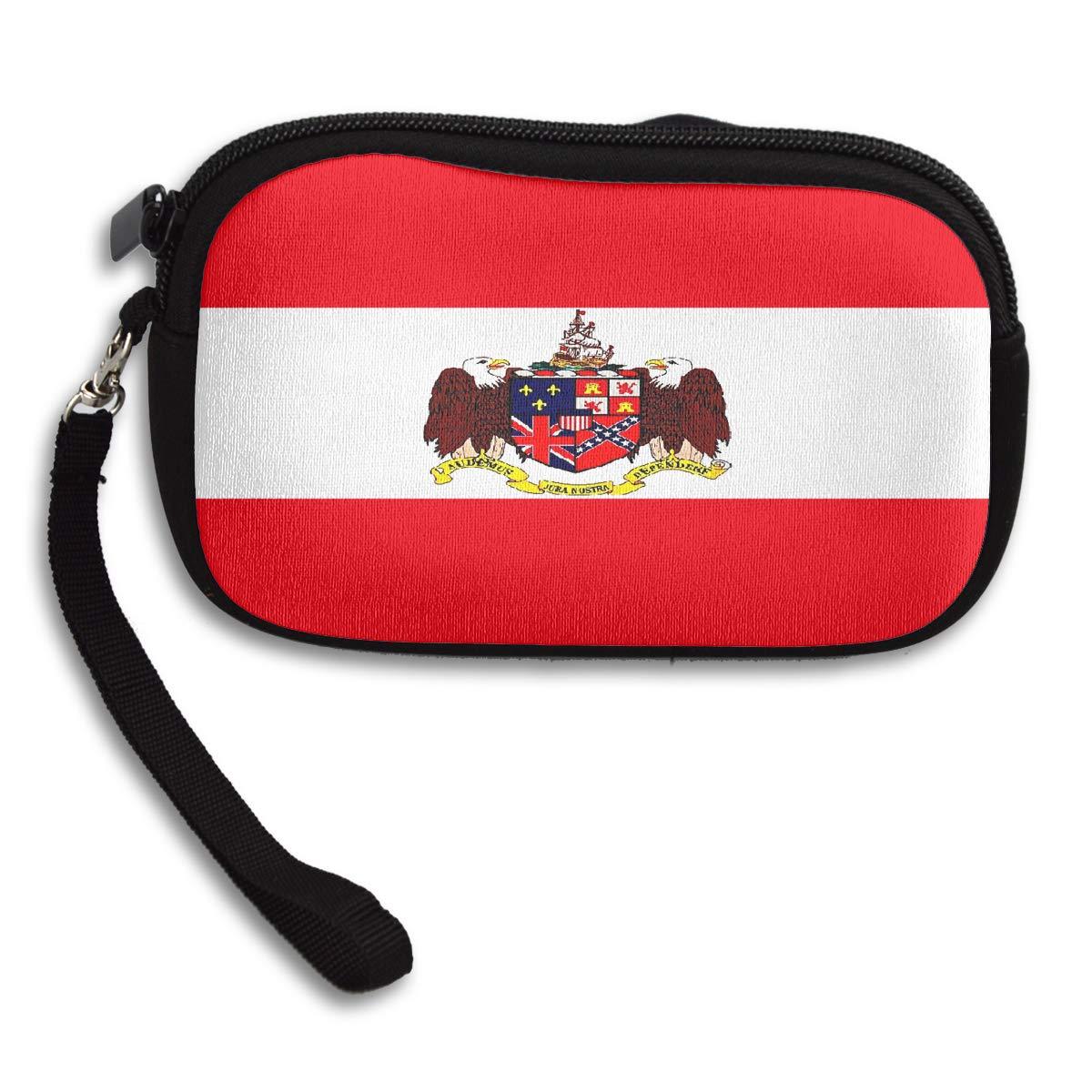 Creative Alabama Flag Coin Purse Stylish Change Purse,Make Up Bag,Cellphone Bag With Handle Purses For Women