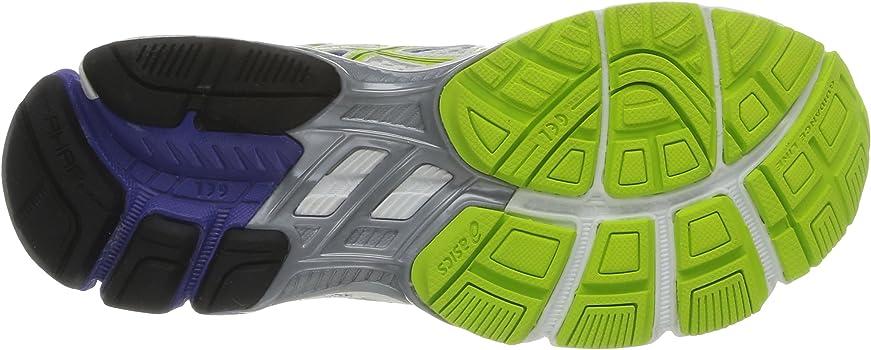 Asics Gt-1000 2 - Zapatillas de Running para Mujer, Color Blanco (White/Lime/Purple), Talla 36: Amazon.es: Zapatos y complementos
