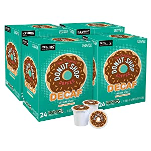 The Original Donut Shop Decaf, Single-Serve Keurig K-Cup Pods, Medium Roast Coffee, 96 Count