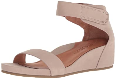 13414edca9c7 Gentle Souls by Kenneth Cole Women s Gianna Wedge Sandal with Ankle Strap  Sandal