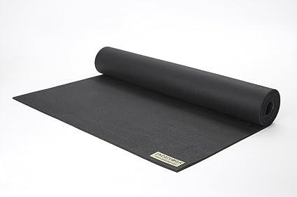 Jade Harmony 3 16 quot  24 quot  x 68 quot  Black Yoga Mat e25f6e262