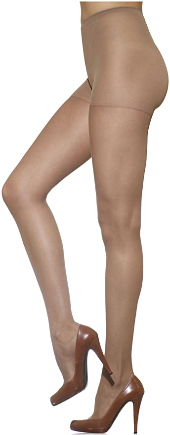 a0a3ff49660 Silkies Women s TLC Total Leg Control Pantyhose with Light Support Legs at  Amazon Women s Clothing store