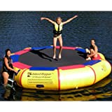 Island Hopper 13' Bounce N Splash Water Bouncer