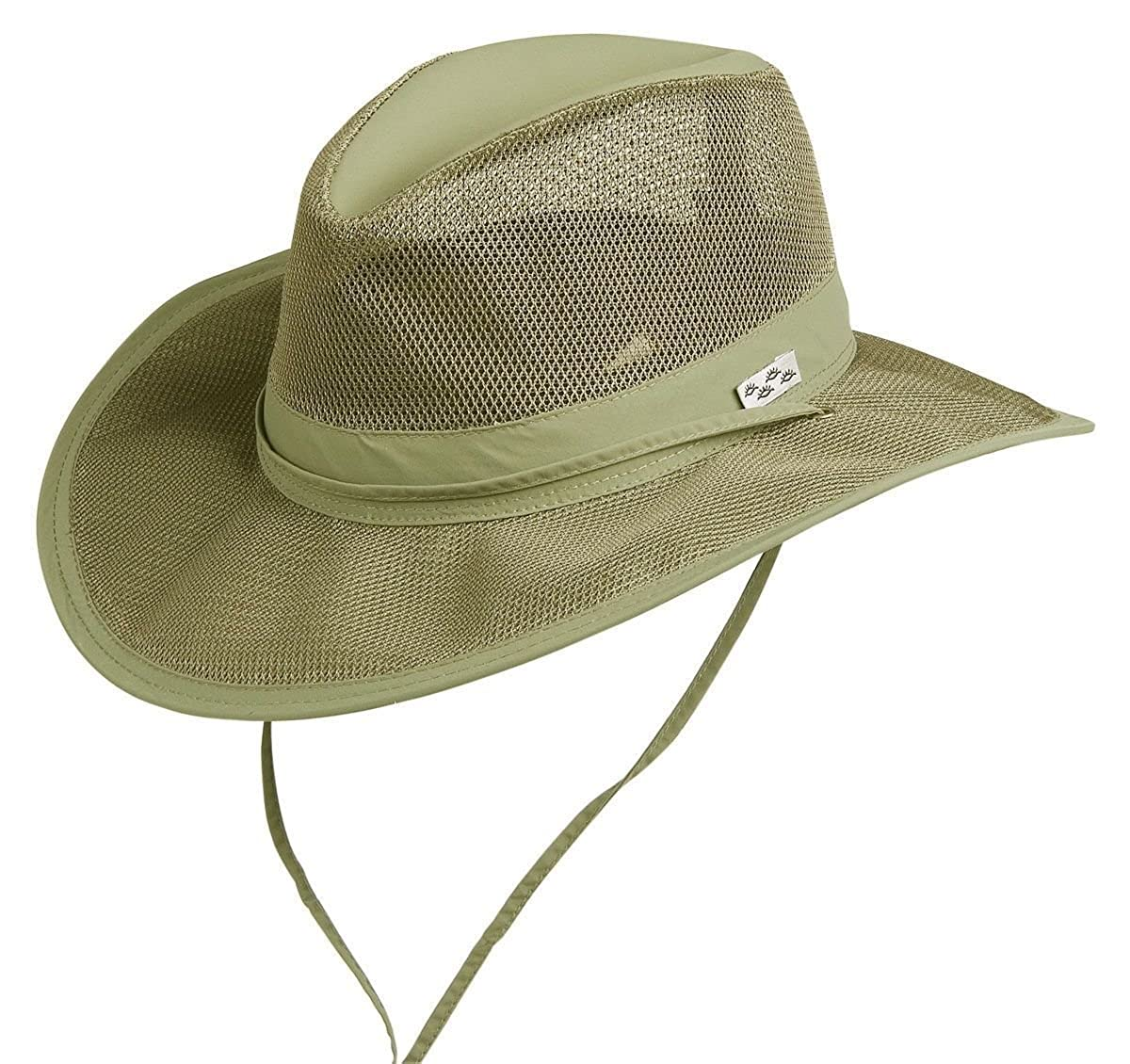 5567528e Made from light weight Supplex and features a mesh crown to keep you cool  on those hot summer days. This hat really feels as light as a feather, ...