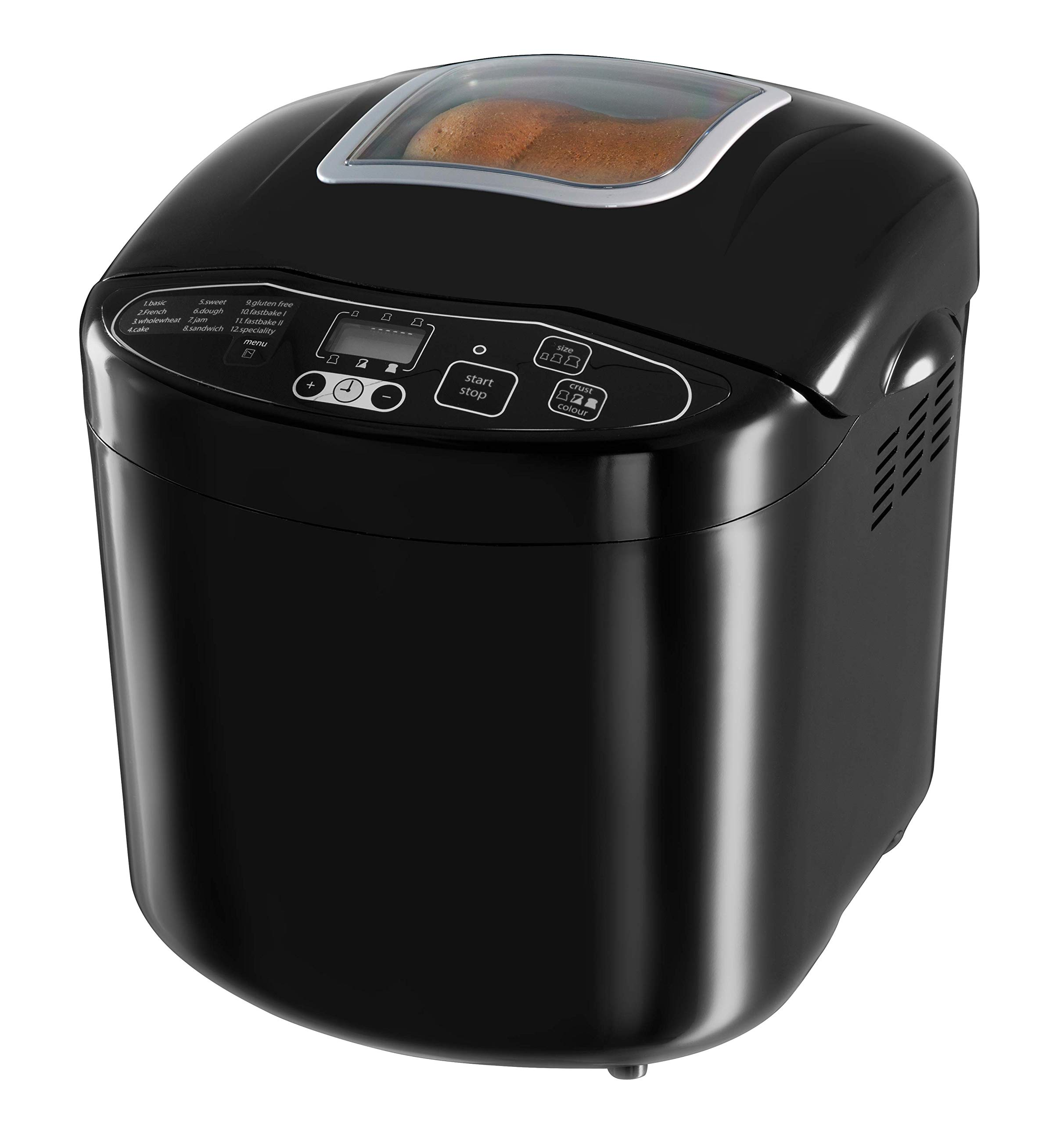 Russell Hobbs 23620 Compact Fast Breadmaker, 660 W, Black