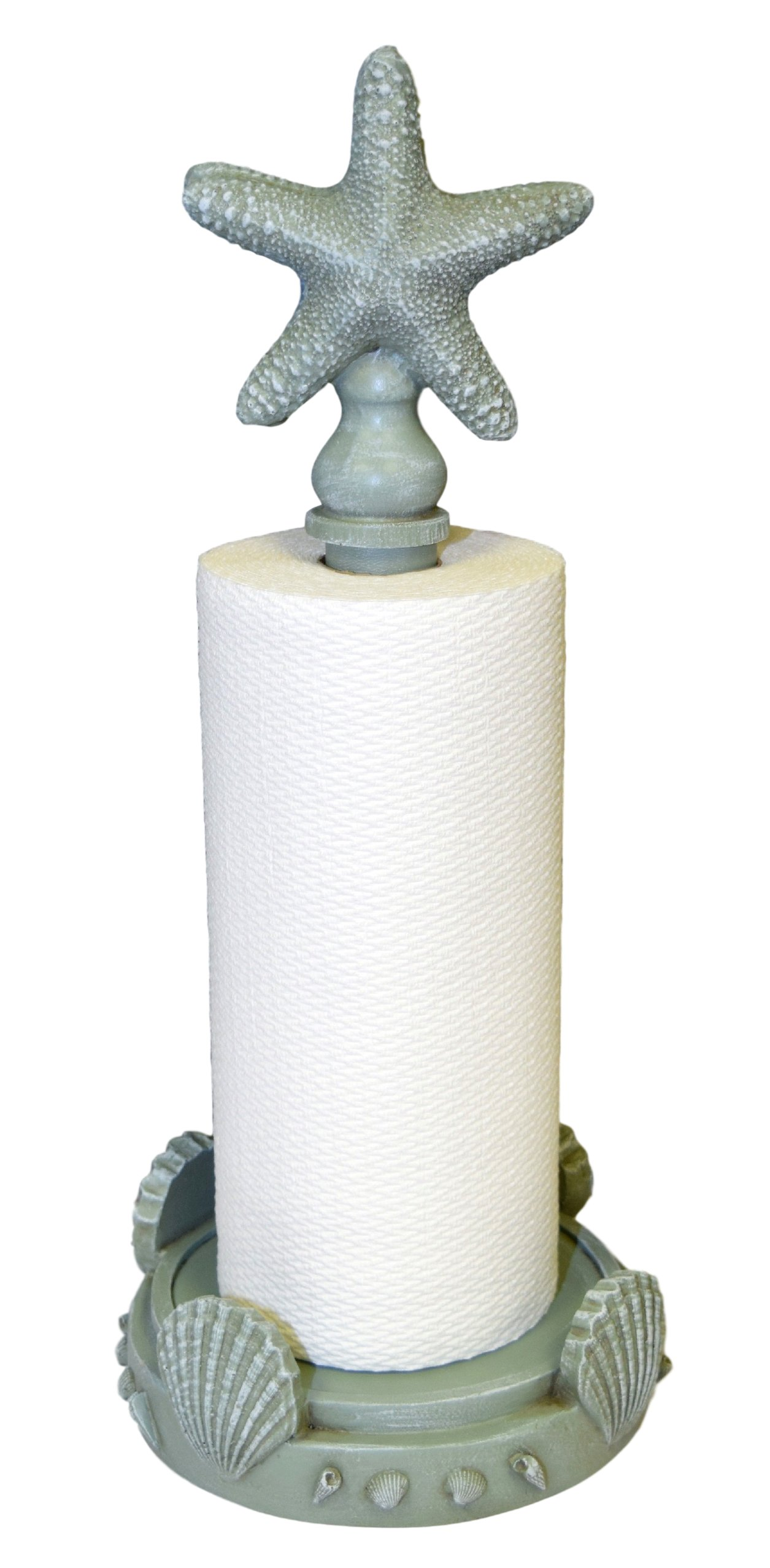 Hickory Manor House Starfish Paper Towel Holder/Seamist Seamiest by Hickory Manor House
