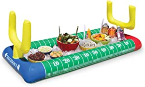 BigMouth Inc. Football Stadium Inflatable Salad Bar, 4.5 Feet Long, Keeps Food Chilled, Easily Inflatable