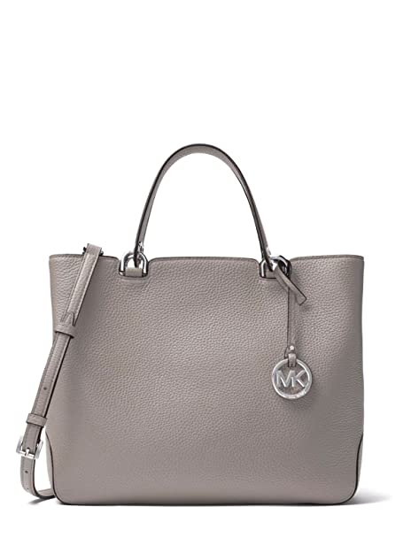 : Michael Kors Anabelle Large Top Zip Leather Tote
