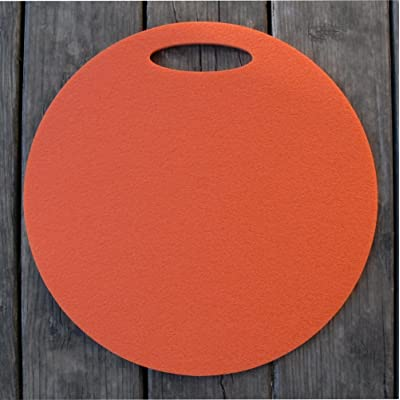 Coussin en mousse Siège Sous-main avec poignée 35cm orange
