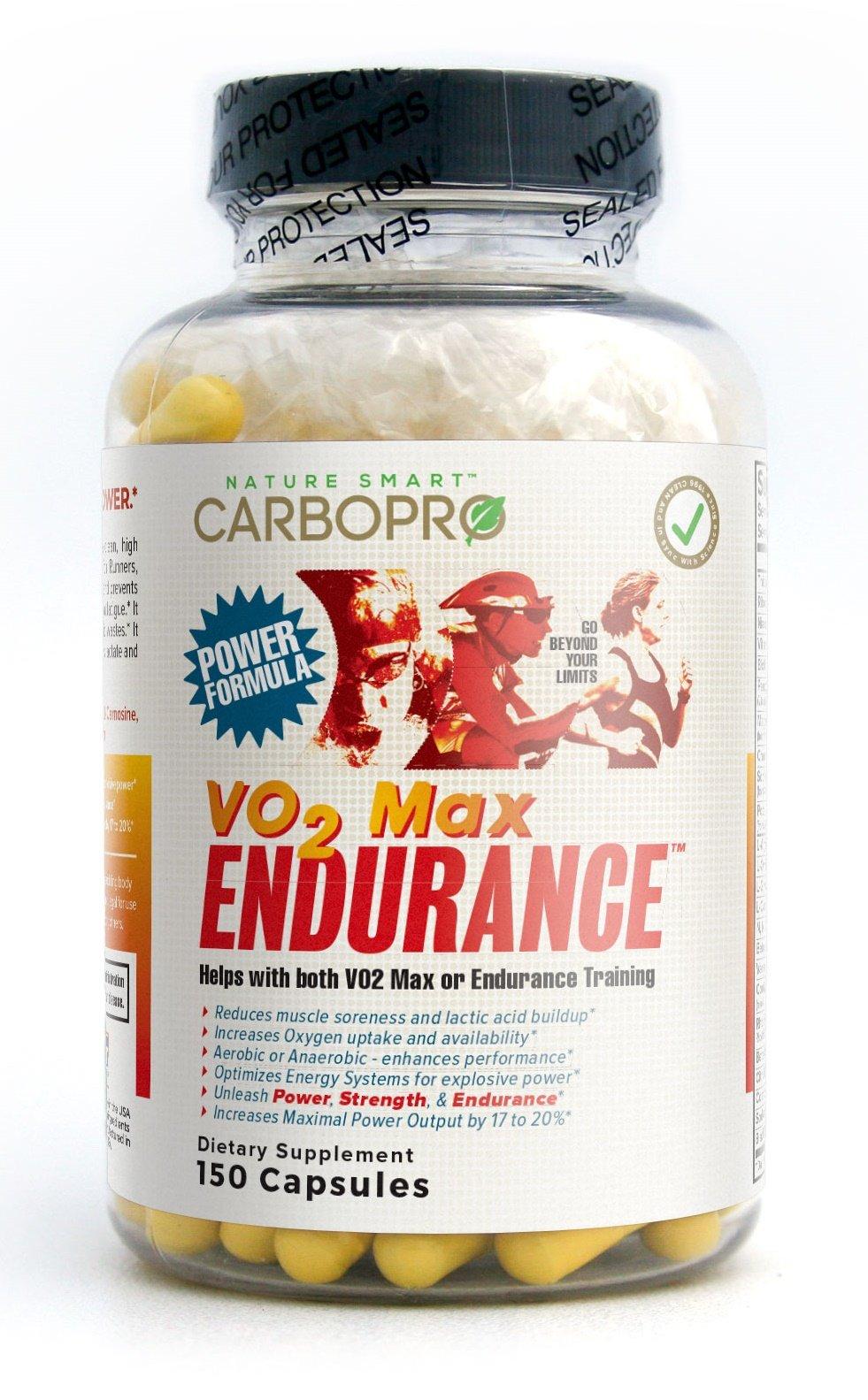 CarboPro Vo2 Max Endurance Capsules