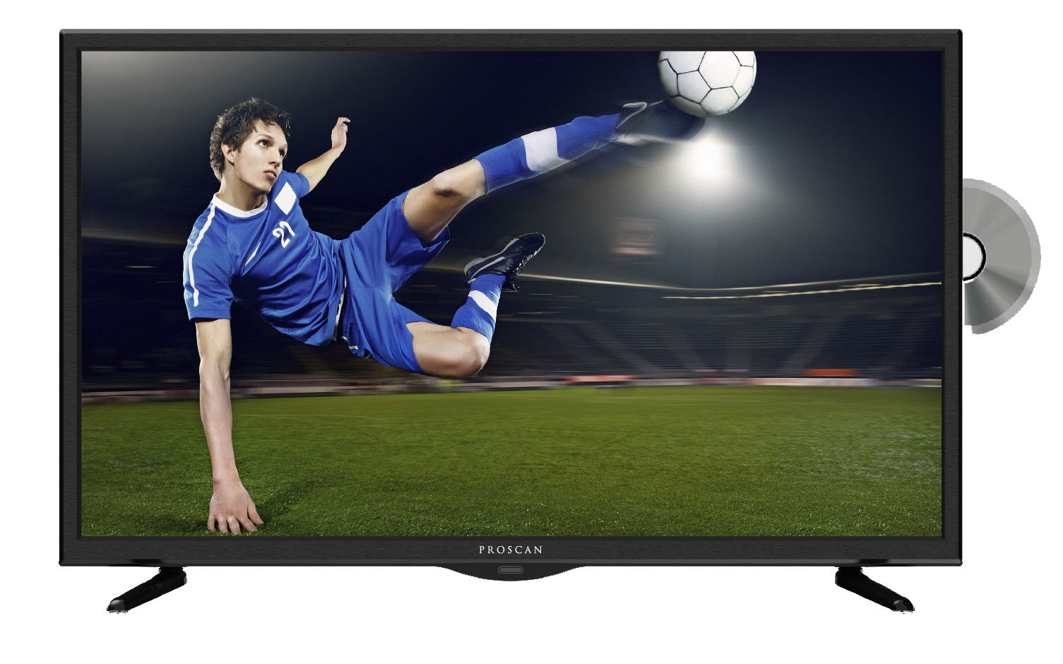 Proscan PLDV321300 32-Inch 720p 60Hz LED TV-DVD Combo by PROSCAN