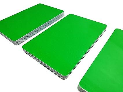 Premium Tarjetas de plástico/tarjetas de PVC Verde | 5 - 500 ...