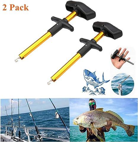 uhmhome - Herramienta de Pesca para Quitar anzuelos de Pesca, Gold(2 Pack): Amazon.es: Deportes y aire libre