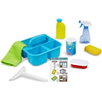 "Melissa & Doug Spray, Squirt & Squeegee Play Set (Pretend Play Cleaning Set, Promotes Motor Skills, 8"" H x 8"" W x 8"" L)"
