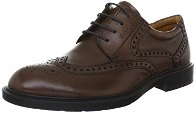 3a4bd260f310 ECCO ATLANTA Lace-Ups Mens Brown Braun (Whisky Leder 01283) Size ...