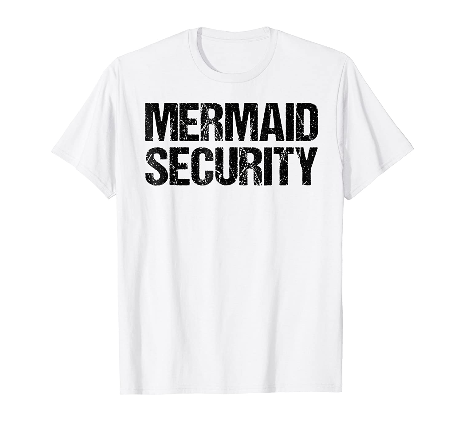 Mermaid Security Shirt Dad Party Fathers Day Gift Daughter-anz