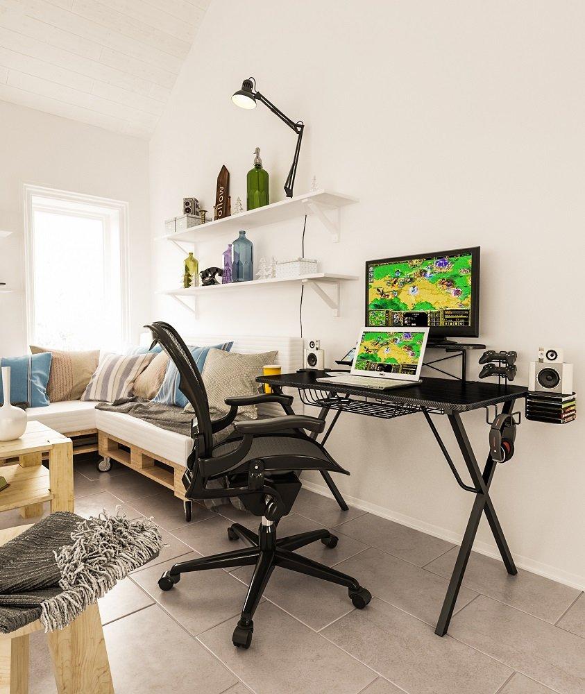 Atlantic 33950212 Gaming Desk Pro 695640727211 Ebay