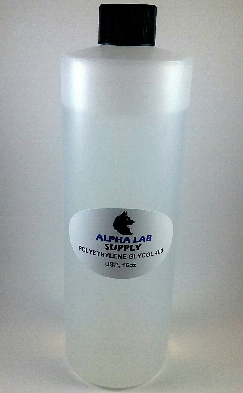 Polyethylene Glycol 400 USP Grade, 16oz - PEG400