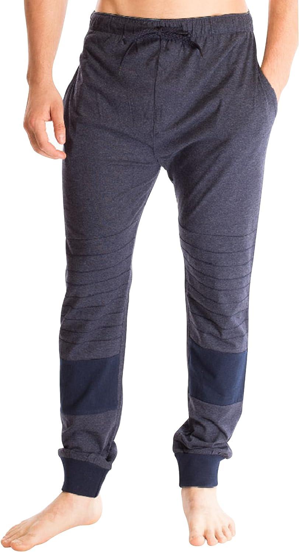 Bottoms Out Men's Strech Fit Superior Comfort Elastic Cotton Lounge Sleep Hangout Men's Jogger Sweatpants