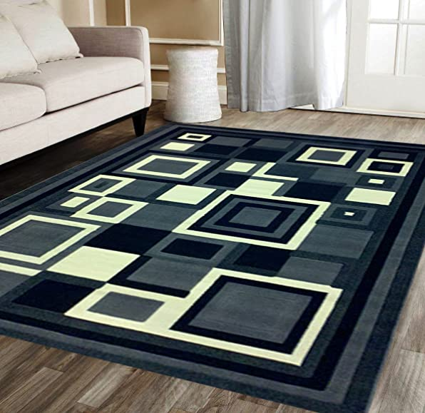 Gallery Modern Area Rug Design 26 Grey 5 Feet X 7 Feet