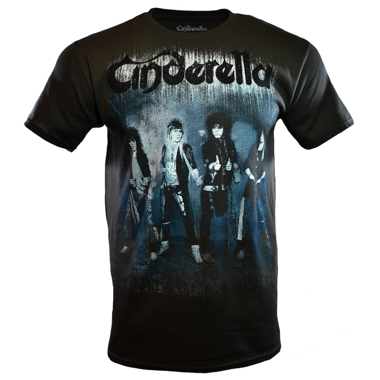 702bffca Amazon.com: Cinderella Men's Graphic Rock & Roll Band T-Shirt, Black:  Clothing
