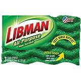 Libman 01076 Scrub Sponge Md Duty 3Pk