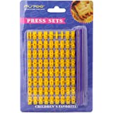 Putee® Alphabet Number Cookie Biscuit Stamp Cutter Embosser Cake Mould Tools