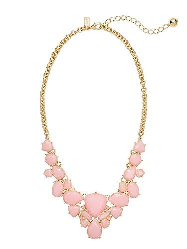 Amazon.com: Kate Spade 'Color Pop' Statement Necklace, Blush: kate ...