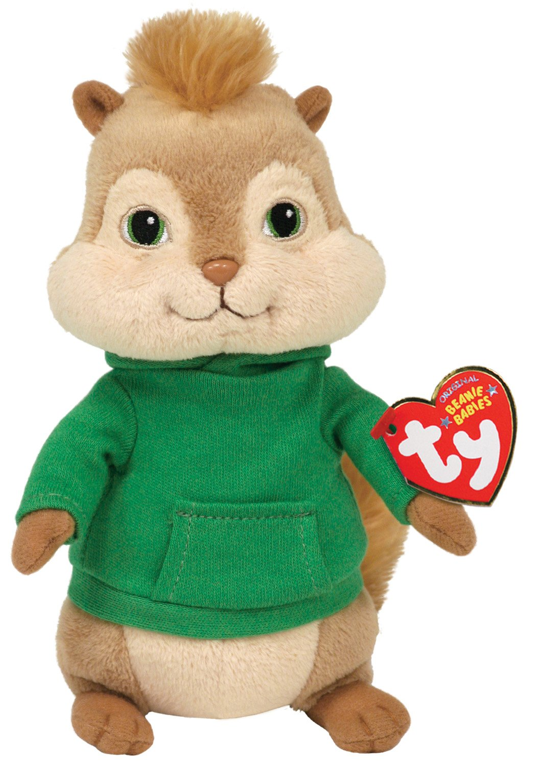 Ty Beanie Baby Theodore,  Alvin and the Chipmunks by Ty