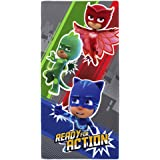 Pj Masks Ready For Action Towel, Cotton, Multi-colour, 70 x 0.5
