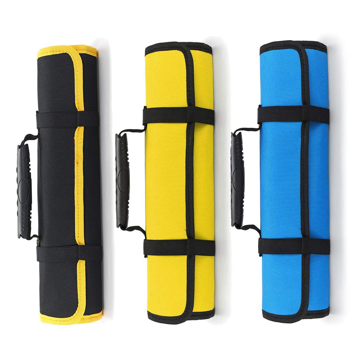 Tanchen Multipurposed Pocket Knife Roll Bag Tools Storage Polyester Holder Roll Bag Water-Proof