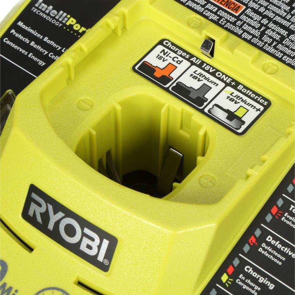 Ryobi 18-Volt ONE+ Cordless Full Size Glue Gun with Charger and 18-Volt ONE+ Lithium-Ion Battery (Bundle) by Ryobi (Image #7)