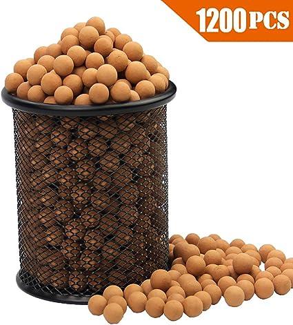 "9mm Slingshot Ammo Professional About 1200 PCS,7//20/"" Environ... Hard Clay Ball"