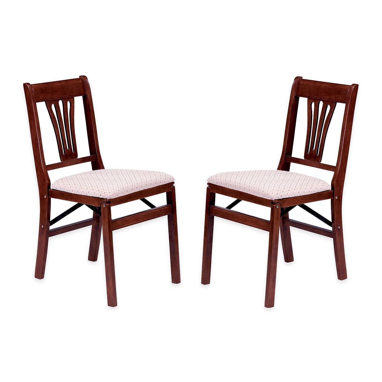 Amazon Stakmore Lattice Back Folding Chair Finish Set of 2