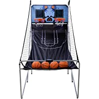 ZENY Dual Shot Basketball Arcade Game Folding Electronic Basketball Game for 2 Players LED Score Board Home Office…