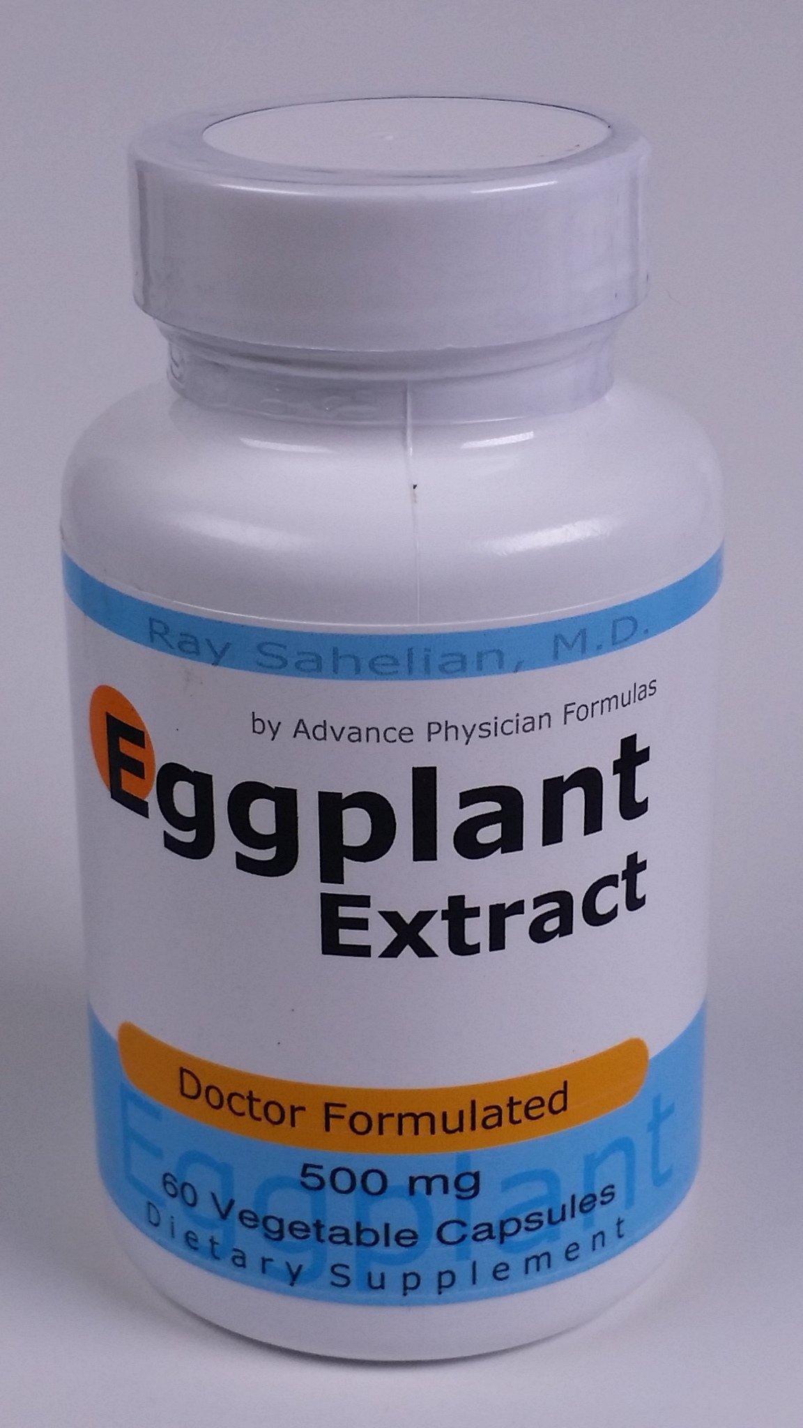 Advance Physician Formulas Inc Eggplant Extract 500 mg 60 Capsules