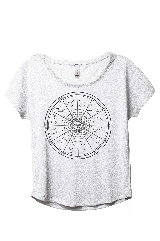 Zodiac Constellation Womens Fashion Slouchy Dolman T-Shirt Tee at Amazon Womens Clothing store: