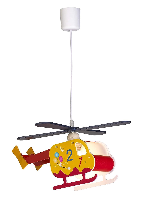 Helikopter Flugzeug Lampe Leuchte Kinderlampe Kinderzimmerlampe Deckenleuchte