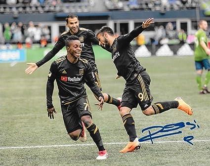 the latest 00fa4 cd2c6 Diego Rossi Signed Photo - Club LAFC 8x10 MLS 4 ...