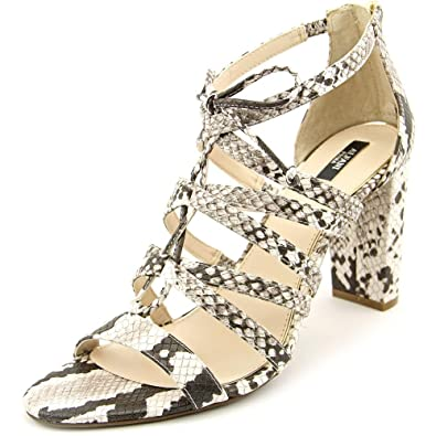 Alfani Womens Jaqui Open Toe Special Occasion Strappy Sandals Natural Size 60