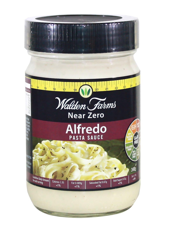 Walden Farms Garlic & Herb Pasta Sauce / Pasta Sauce Alfredo / Pasta Sauce Tomato and Basil 12 fl oz (Alfredo)