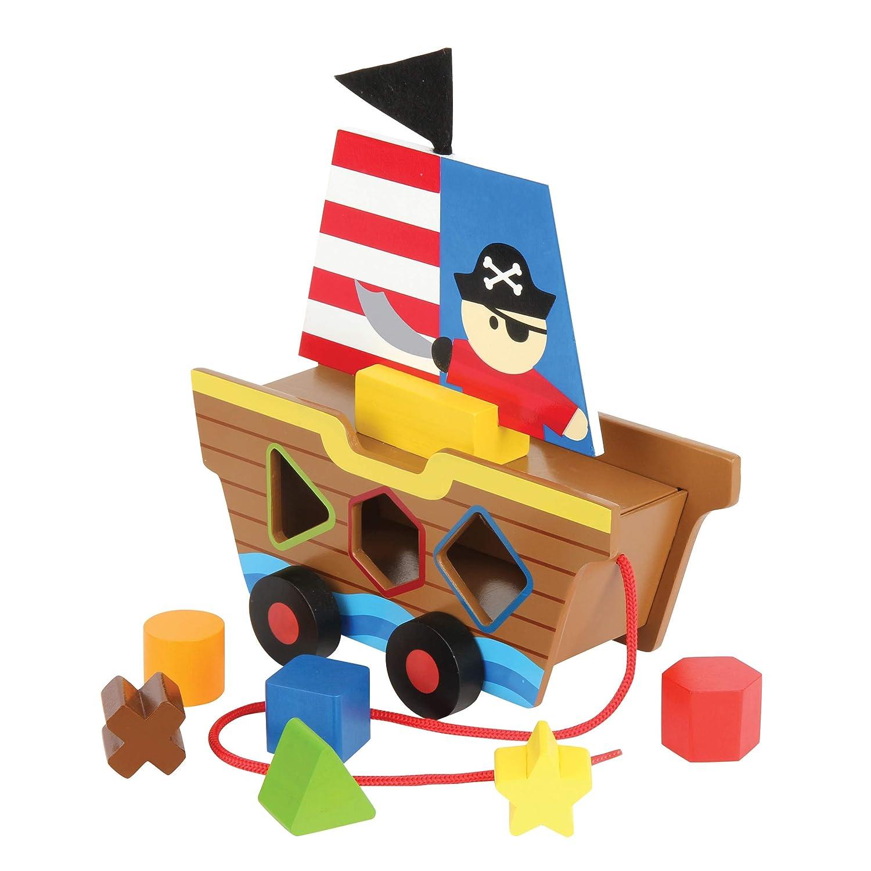 Pirate Stephen Joseph Toy SJ112729 Stephen Joseph Shape Sorter