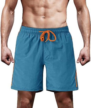 Amazon.com: MAGCOMSEN Swim Shorts for Men Board Shorts Beach Shorts for Men  Surfing Shorts Summer Shorts Quick-Dry Beachwear Mens Boardshorts Swim  Trunks Blue: Clothing