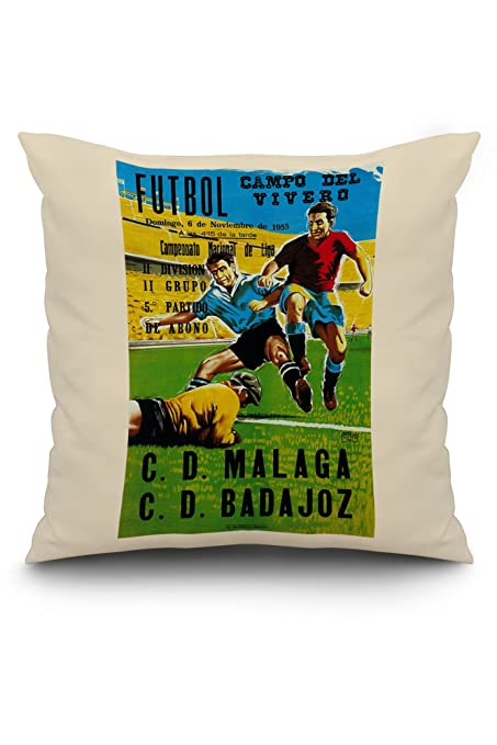 Amazon.com: Futbol Promotion Vintage Poster - Campo del ...