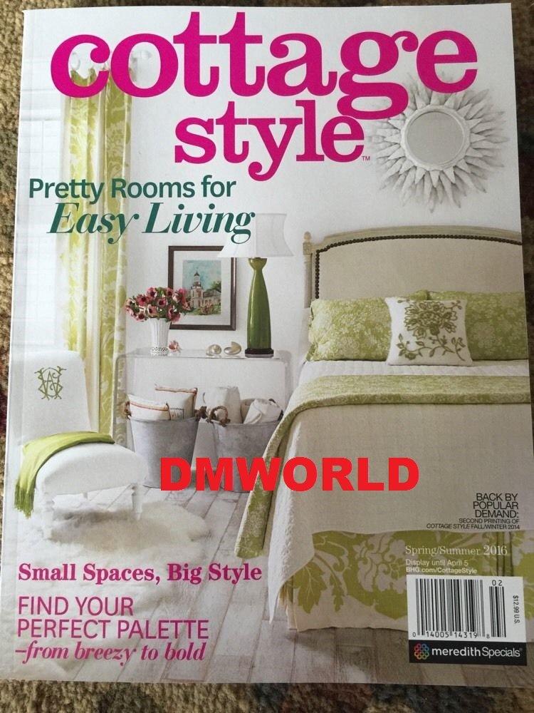 Groovy Amazon Com Cottage Style Magazine Spring Summer 2016 Download Free Architecture Designs Momecebritishbridgeorg